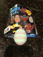 Figural Collectible Bag Clip Godzilla King Of Monsters Mothra Egg Rare