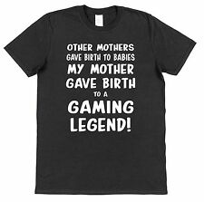 Funny Gaming Legend T-Shirt Other Mothers Joke Cotton Mens Black Gamer Video COD