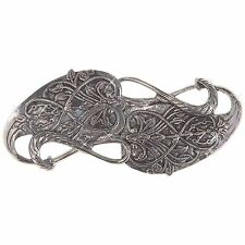 GANDALF BROOCH Pin LOTR Clasp Lord of the Rings Hobbit frodo arwen grey new