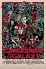 Tyler Stout Guardians of the Galaxy art print/poster Mondo Reg