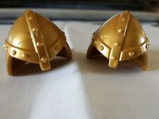 PLAYMOBIL: 2 CASQUES  CHEVALIER /HELM CASCO HELMET/ RITTER CABALLERO KNIGHT #417