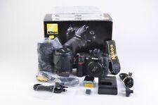 EXC++ NIKON D7000 16.3 MP DSLR w/NIKKOR 18-105mm VR KIT, COMPLETE, 17,705 ACTS!