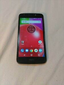 Moto E4 XT1766 16GB (Sprint) Network Locked Smartphone - Black (Used)