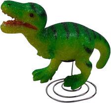 Green Dinosaur Lamp - Childrens Bedroom Nursery Night Light - Eva Nite Lite