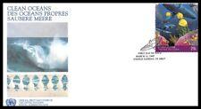 Nations Unies (Des Océans Propres) 1992 FDC - 4