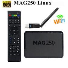 Mag250 TV Box Multimedia Player Internet Tv Set Top Box IP Smart TV Box+USB Wifi