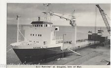 M.V. Katrine at Douglas, Isle of Man Shipping Postcard, B541