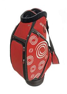 NEW Odyssey Red/Black/White Swirl Staff Bag