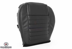 2005-2009 Ford Mustang Shelby GT500 GT-H -Driver Bottom Leather Seat Cover Black