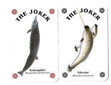 2 vissen jokers speelkaarten playing cards jeu de cartes spielkarten fish