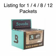 NEW Boveda 69% RH Humidity Control Large 60 Gram Size Individually Wrapped