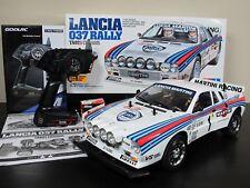 New Built Tamiya R/C 1/10 Lancia 037 Rally Car TA-02S 58654 Transmitter ESC RTR