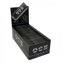 OCB Premium #1 Black Rolling Papers Regular Size 50 Booklets