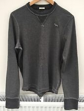 Abercrombie Fitch Cotton Slim Crew Neck Men's Casual Shirts & Tops