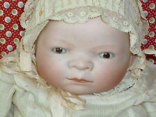 Antique Bye Lo Baby doll German Bisque porcelain Cryer-Grace S. Putnam-Borgfeldt