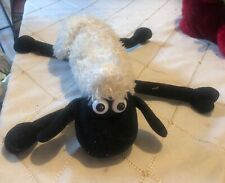 "Shaun The Sheep 12"" Medium Plush Stuffed animal Furry and loving w/ long legs!"