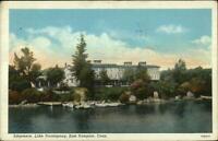 East Hampton CT Lake Pocotopaug Edgemere Postcard