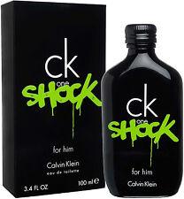 CK ONE SHOCK FOR HIM de CALVIN KLEIN - Colonia / Perfume 100 mL -  Hombre / Man