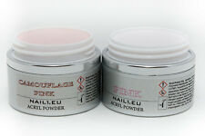 Make Up Acryl Set 2x50ml(41g) Pulver Camouflage PINK, transparent PINK / MakeUp