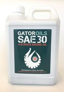 2 Litre Gator SAE30 4 Stroke Horticultural Lawnmower Oil Briggs & Stratton Honda