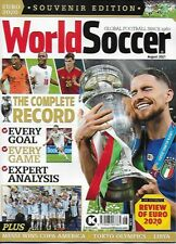 WORLD SOCCER- August 2021 issue (NEW) *Post included to UK/EU
