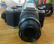 Olympus OM-D E-M10 Mirrorless Camera with 14-42mm Lens - Silver