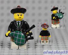 LEGO Series 7 - Bagpiper 8831 Minifig Minifigure Scottish Kilt Bag Pipes Player