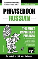 English-Russian Phrasebook and 1500-Word Dictionary: By Taranov, Andrey