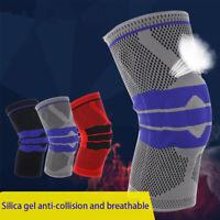 articulaciones Calentador de pierna Equipo de protección Rodillera de silicona