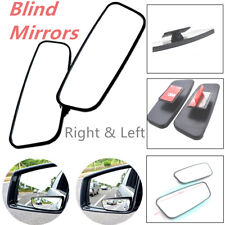 Pair Side Blind Spot Wide View Mirror Expands Field Vision Rearview Car Truck