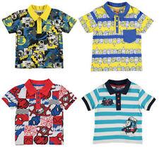 Boys' Novelty/Cartoon Collared T-Shirts & Tops (2-16 Years)