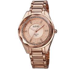 August Steiner Women's AS8122RG Diamond Dial Rose-tone Bracelet Watch 5328