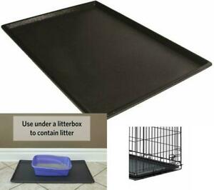 DOG CRATE REPLACEMENT PAN 36 Inch Plastic Leak Proof Pet Dogs Kennel Floor Tray
