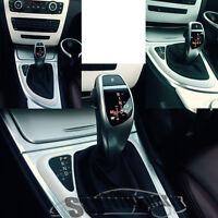 SCHALTKNAUF PASST FÜR BMW AUTOMATIK MIT BELEUCHTUNG: E60 E61 5er 2003 bis 03/07