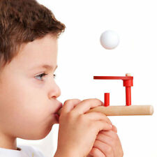 Montessori Materials Baby Wooden Blow Hobbies Fun Sports Toy Ball 2N