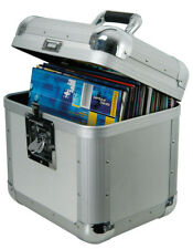 "Citronic Vinyl Flightcase - Holds 50 12""  LP Records -Strong Aluminium DJ Case"