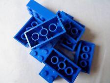 LEGO 3001 BLUE 2 x 4 BRICKS x 10