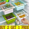 US Slide Fridge Freezer Space Saver Organizer Kitchen Storage Rack Shelf Holder