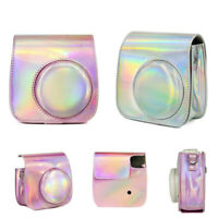 PU Leather Carrying Case Protective Bag For Fujifilm Instax Mini 9 8 8+ Camera -