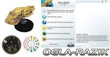 OGLA-RAZIK #102 Star Trek Tactics 3 III Wizkids HeroClix