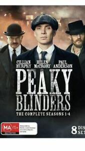 Peaky Blinders Complete Season 1-4  DVD Box Set Region 4 Aussie Release