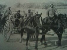 book picture - ww1 world war one - 1915 - - french supply troops en route from s