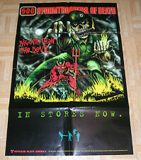 Storm Troopers of Death Bigger Then the Devil Iron Maiden Parody Poster 24x36