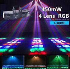 DMX 7 colour Scan stage Laser light LED Show DJ Disco Home Party Light Project Z