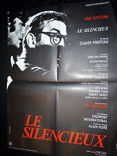 lino ventura LE SILENCIEUX  ! c pinoteau affiche cinema 1972