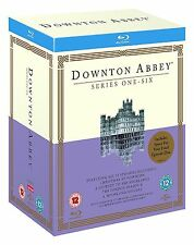 Downton Abbey Complete Collection 1-6 Blu Ray Box Set All Season 1 2 3 4 5 6 UK
