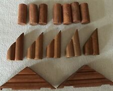 Vintage Lot of Lincoln Logs Special Replacement Sizes Shapes