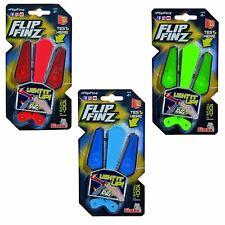 Flip Finz Fidget Spinner Hand Toys Stress Reliever LED Light Kids Party Bag 2pcs