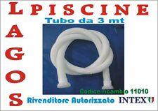 Ricambio INTEX Tubo 3 Mt Per Pompa Filtrp 56622 56634 cod 11010 diametro 38