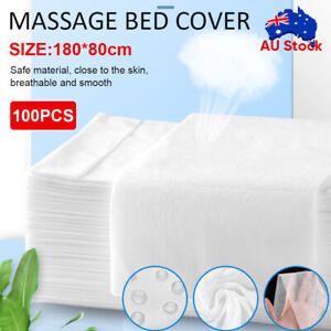 100-300X Massage SPA Salon Table Cover Disposable Beauty Bed Sheet SMS Non-woven
